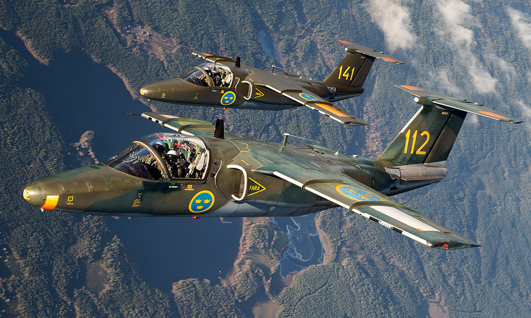Swedish Air Force u2013 Flying Training School FLYMAG